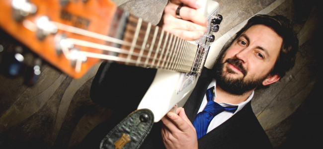 NEPA rocker Aaron Fink puts new solo album out Jan. 20, with release party at Jazz Cafe in Plains Feb. 18