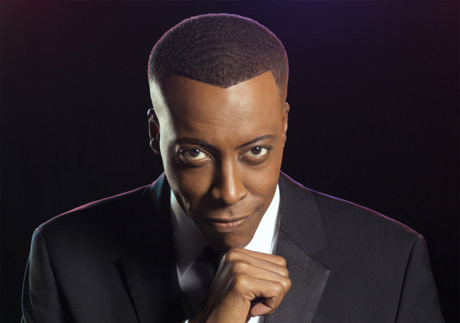 Comedian and TV host Arsenio Hall performs stand-up at Mt. Airy Casino Resort in Mt. Pocono on Feb. 4