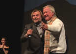 VIDEO: Hazleton 'Polka King' Jan Lewan joins Jack Black on stage for 'Rappin' Polka' at Sundance premiere Q&A