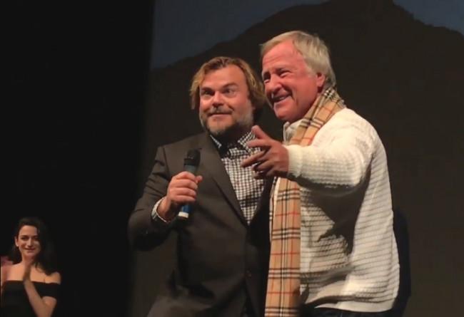 VIDEO: Hazleton 'Polka King' Jan Lewan joins Jack Black on stage for 'Rappin' Polka' at Sundance premiere Q&A