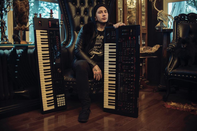 After 10 years, keyboardist Josh Balz is leaving Scranton metal band Motionless In White