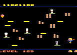 TURN TO CHANNEL 3: Atari 7800's 'Food Fight' is as simple and fun as its title