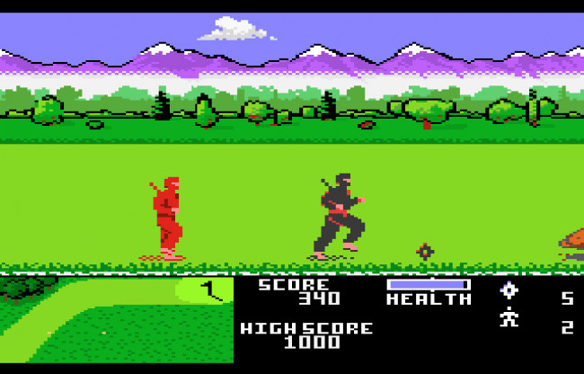 TURN TO CHANNEL 3: Yes, 'Ninja Golf' is an actual Atari 7800 game, and it's absurdly entertaining