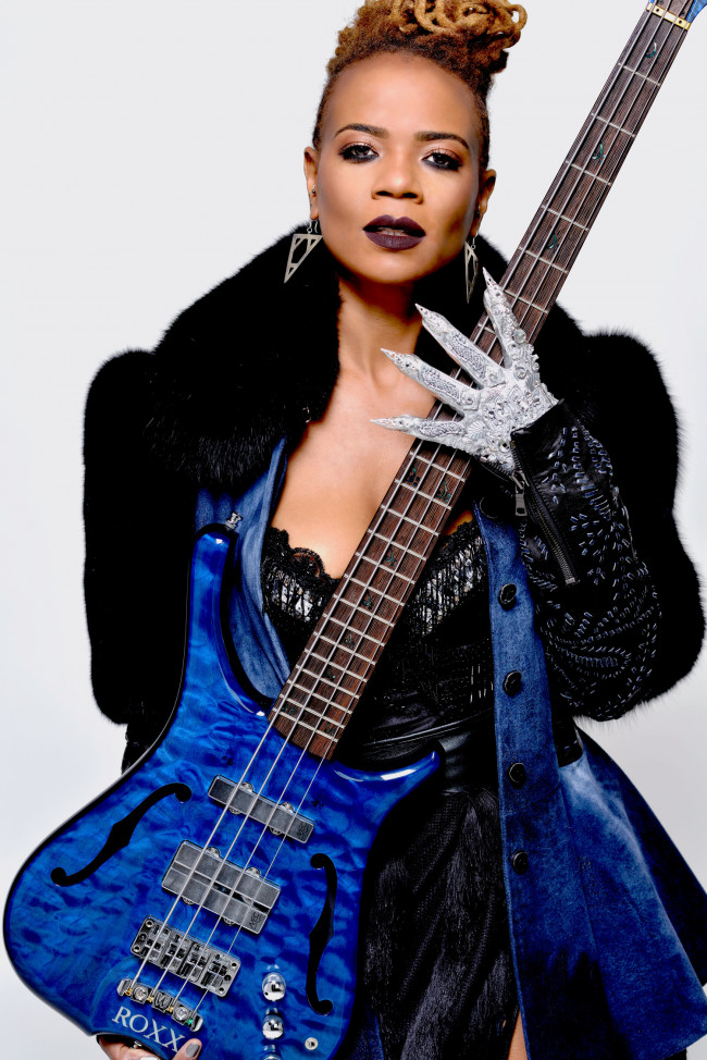 Beyoncé bassist and alternative pop artist Divinity Roxx plays Jazz Cafe in Plains on March 11