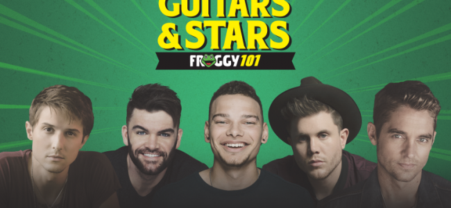 Froggy 101's Guitars & Stars lets young country artists shine at Kirby Center in Wilkes-Barre on April 18
