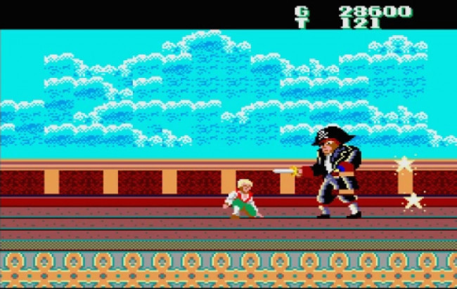 TURN TO CHANNEL 3: Shiver me timbers! 'Captain Silver' is a buried Sega Master System treasure