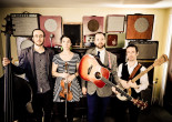Susquehanna Breakdown folk bands Driftwood and Dishonest Fiddlers play Jazz Cafe in Plains on Feb. 25