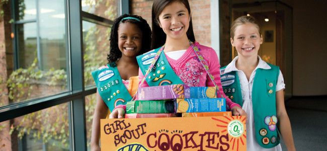 A FREAK ACCIDENT: Girl Scout Cookies honest review, the Super Bowl, and #NameBrandMashup