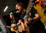 Scranton punk band The Menzingers play free acoustic show at Gallery of Sound in Wilkes-Barre on Oct. 6
