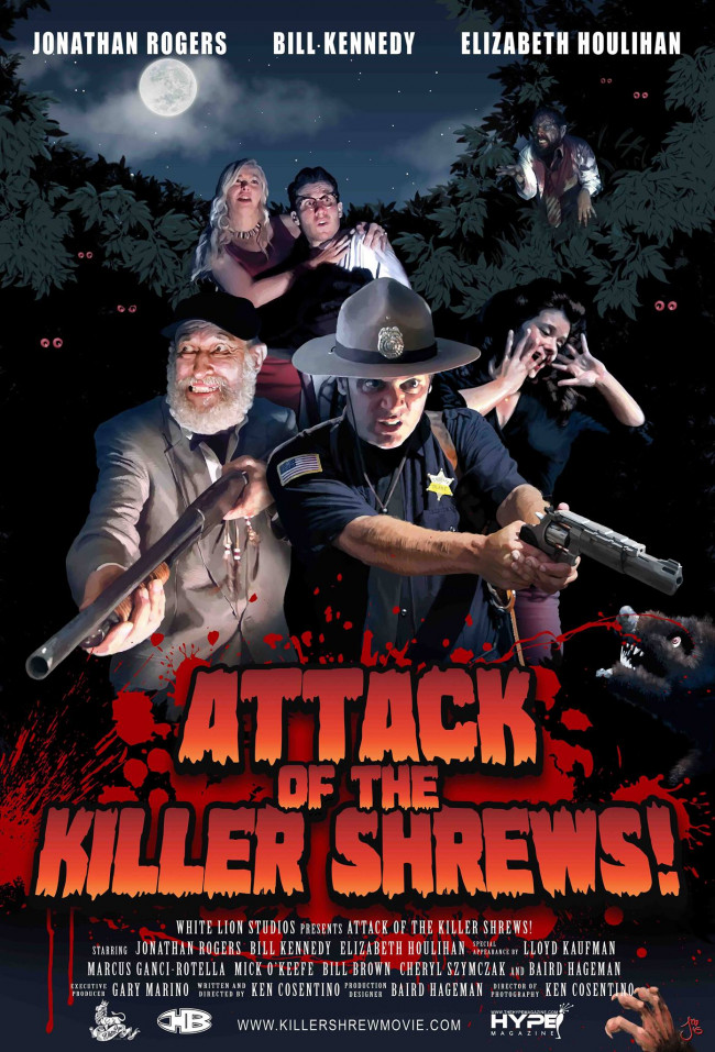 Indie horror comedy 'Attack of the Killer Shrews' screens with cast and crew in Honesdale on March 18