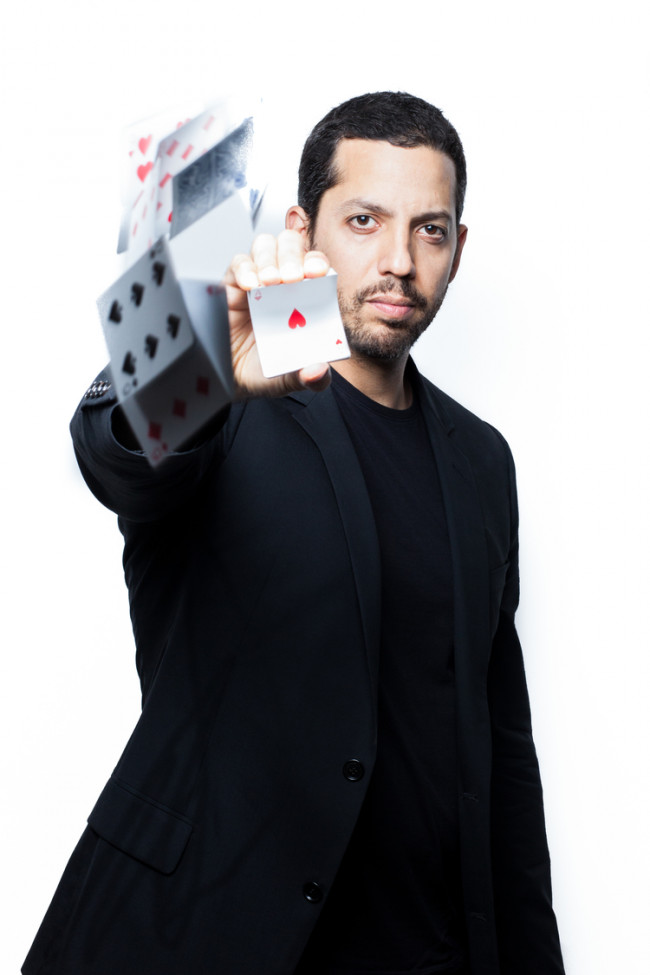 Magician David Blaine will stupefy the Sands Bethlehem Event Center on July 7