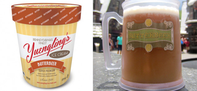 Yuengling has introduced a new Harry Potter-inspired Butterbeer ice cream