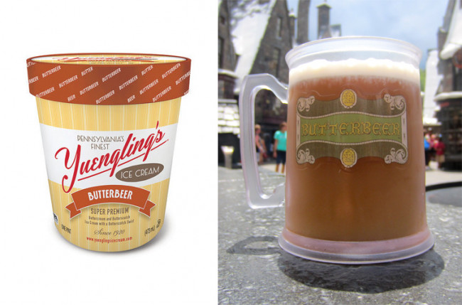 Yuengling Has Introduced A New Harry Potter Inspired Erbeer Ice Cream