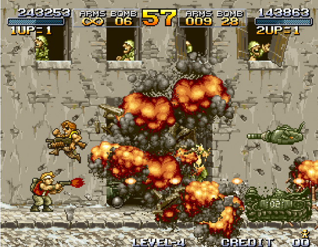 TURN TO CHANNEL 3: Neo Geo's 'Metal Slug' rivals 'Contra' with detailed run and gun fun