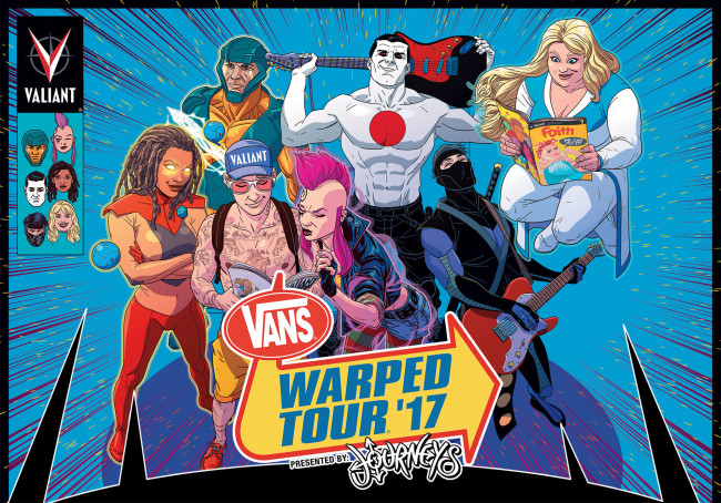 GWAR, Hatebreed, CKY join surprising 2017 Vans Warped Tour lineup in Scranton on July 10