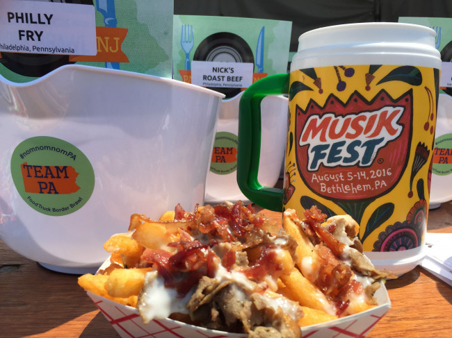 PA and NJ cuisine battle in Food Truck Border Brawl at SteelStacks in Bethlehem on June 10