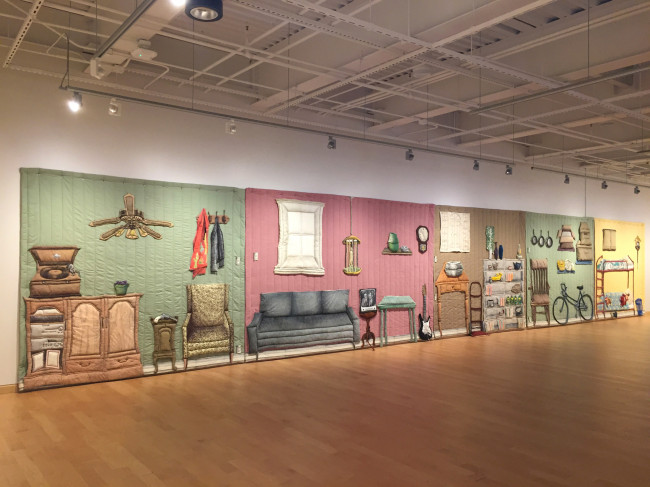 Intricate fabric art on display at Gallery at Penn College in Williamsport May 23-July 23