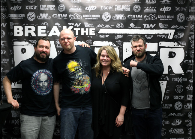 NEPA SCENE PODCAST: Break the Barrier indie wrestling festival in Old Forge and Powerbomb.TV