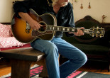 Folk legend Arlo Guthrie performs with his children at Kirby Center in Wilkes-Barre on Oct. 27