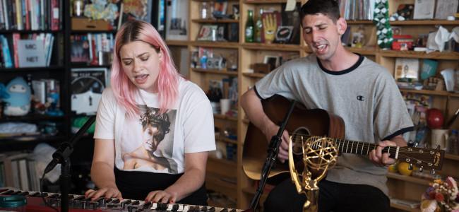 VIDEO: Scranton indie rockers Tigers Jaw play NPR Tiny Desk Concert