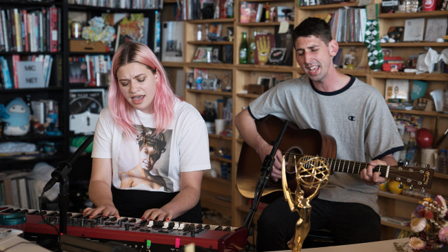 VIDEO: Scranton indie rockers Tigers Jaw play NPR Tiny Desk Concert