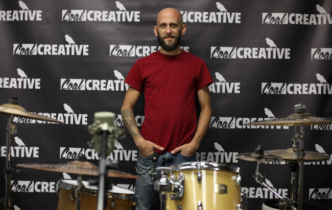 EXCLUSIVE: Live drumming demonstration by Olyphant drummer and teacher Chris Langan