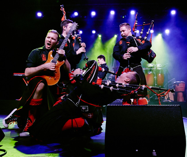 Bagpiping sensation Red Hot Chilli Pipers return to Hershey Theatre on March 17