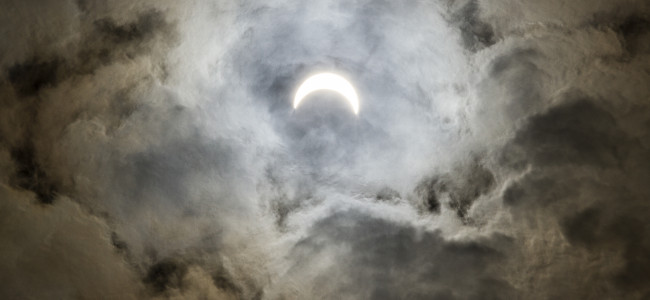 PHOTOS: Solar eclipse view from Scranton, 08/21/17