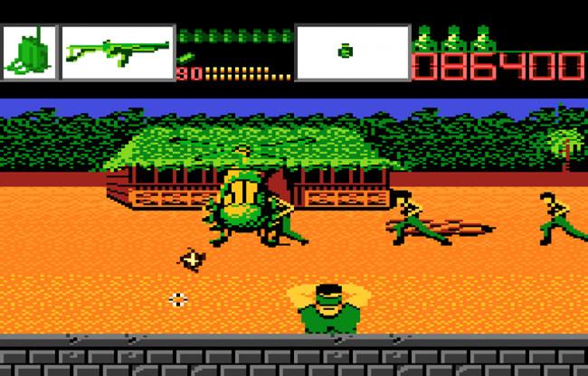 TURN TO CHANNEL 3: Arcade-style Atari light gun game 'Alien Brigade' is short, but a blast