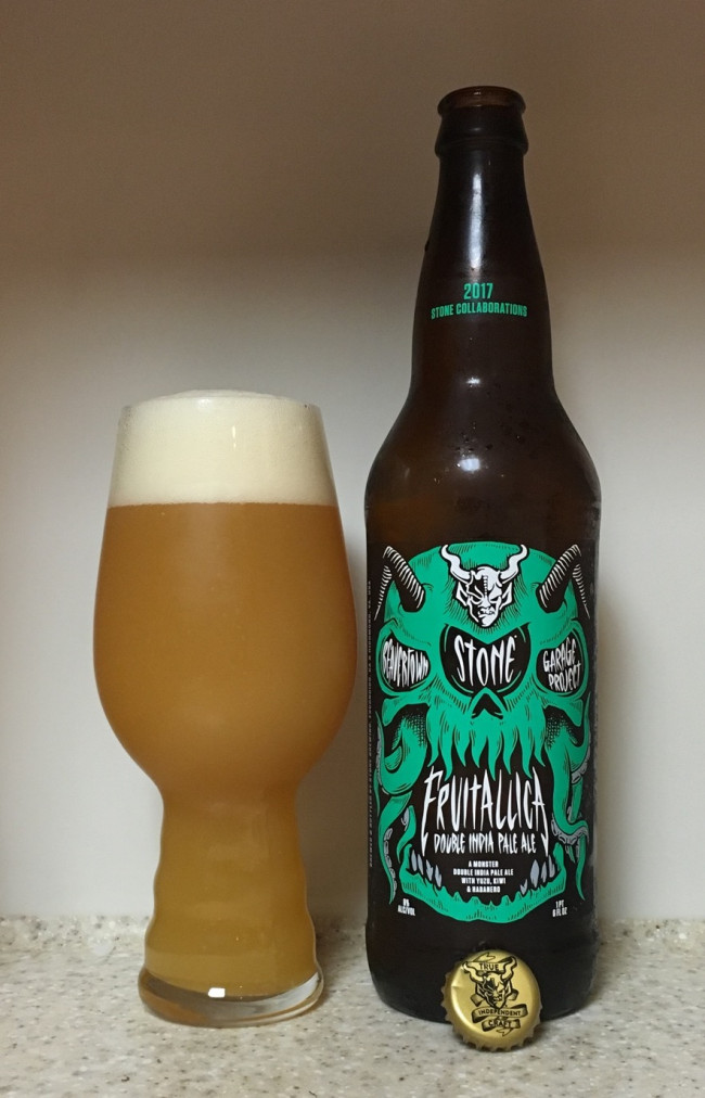 DRINK IT DOWN: Fruitallica DIPA by Stone Brewing Company, Beavertown Brewery, and Garage Project