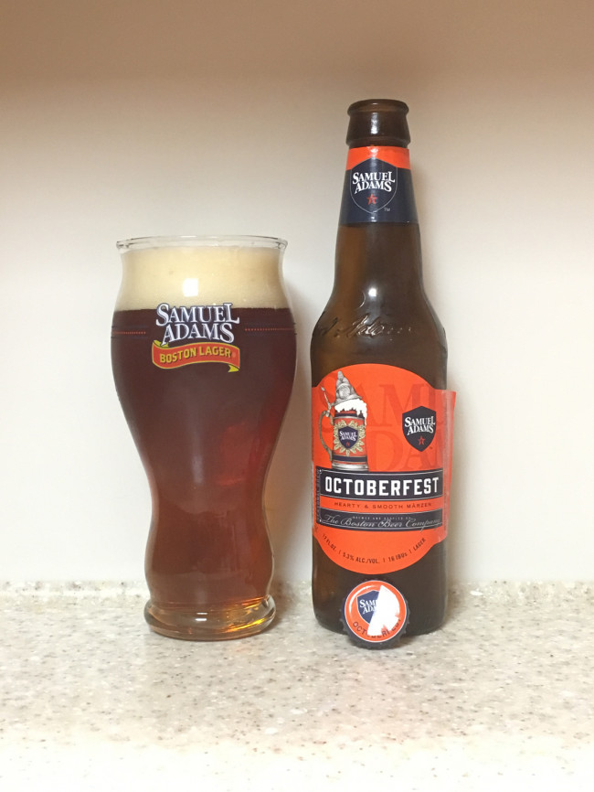 DRINK IT DOWN: Octoberfest by Samuel Adams (Boston Beer Company)