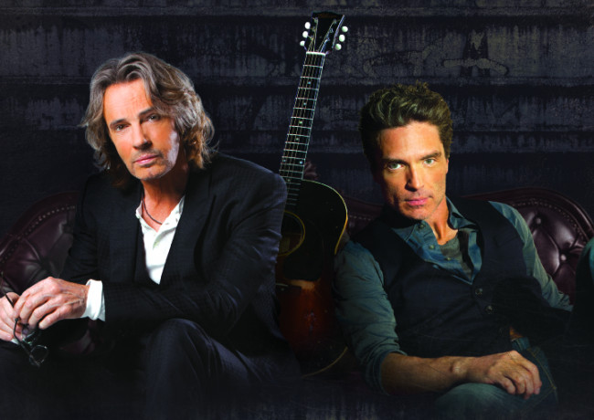 Rick Springfield and Richard Marx play acoustic concert at F.M. Kirby Center in Wilkes-Barre on Dec. 15