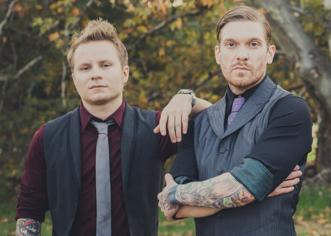 Smith & Myers of Shinedown play live acoustic show at Circle Drive-In in Dickson City on Sept. 18