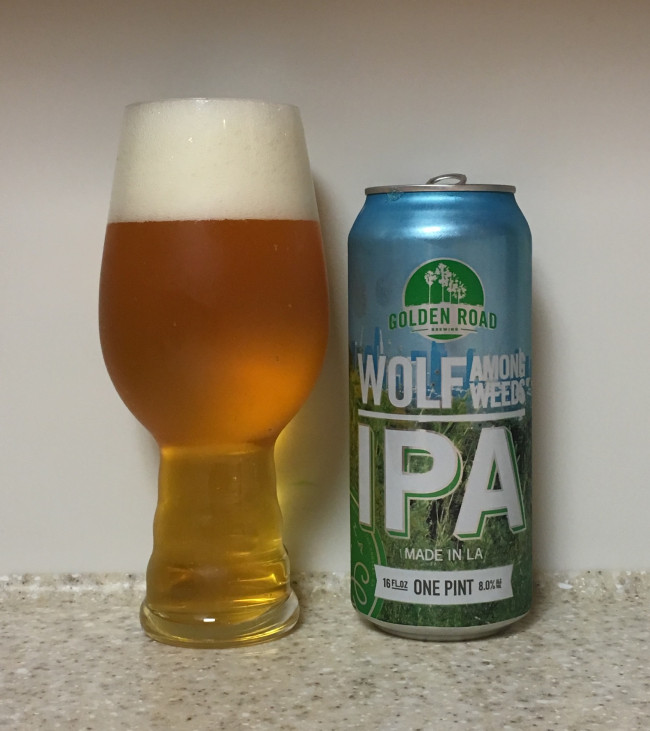 DRINK IT DOWN: Wolf Among Weeds Double IPA by Golden Road Brewing