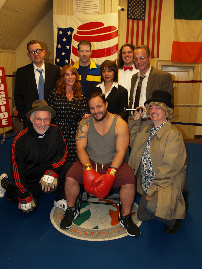 New boxing comedy 'Man on a Canvas' opens at Olde Brick Theatre in Scranton Nov. 10-19