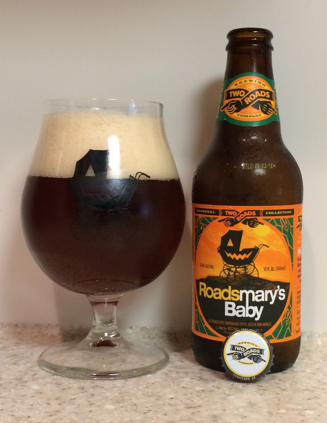 DRINK IT DOWN: Roadsmary's Baby Pumpkin Ale by Two Roads Brewing Company