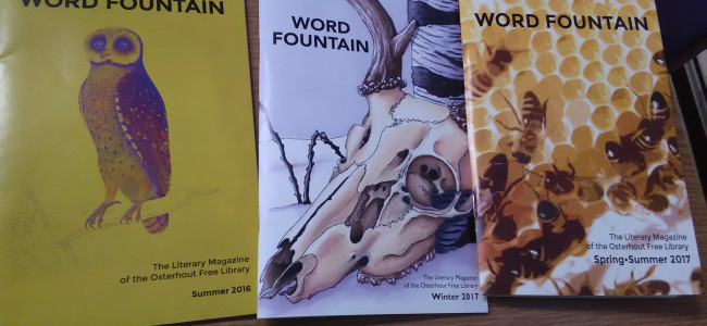 Wilkes-Barre literary magazine Word Fountain releases new issue at Osterhout Free Library on Nov. 2