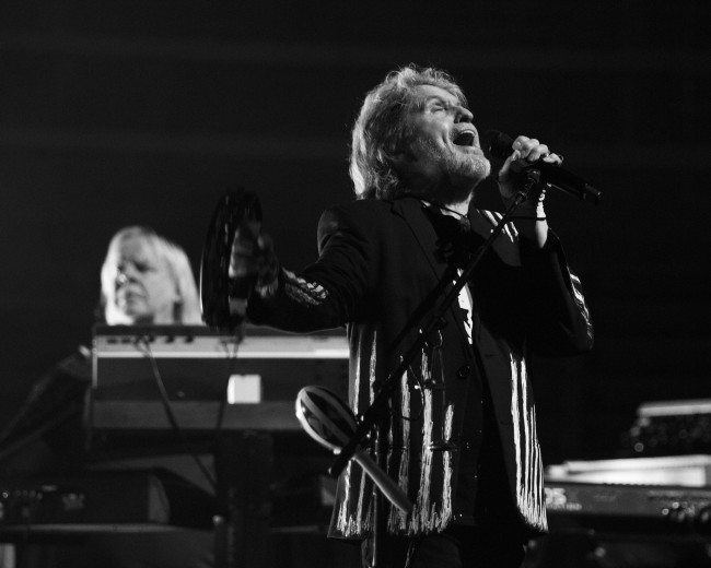 Original Yes vocalist Jon Anderson sings at Kirby Center in Wilkes-Barre on April 15