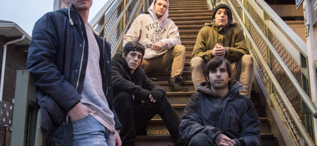 Pop punk bands Carousel Kings and We Were Sharks play at Irish Wolf Pub in Scranton on Dec. 15