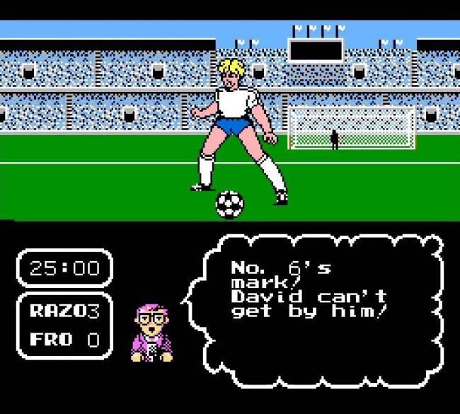 TURN TO CHANNEL 3: 'Tecmo Cup Soccer' kicks NES sports games up a notch