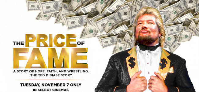 Ted 'Million Dollar Man' DiBiase documentary 'Price of Fame' screens in NEPA theaters on Nov. 7
