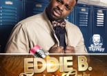 Teacher-turned-comedian Eddie B performs at Kirby Center in Wilkes-Barre on Feb. 2