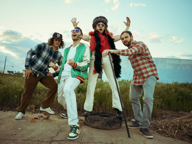 Philly funktronica band Tweed throws dance party at River Street Jazz Cafe in Plains on Nov. 17