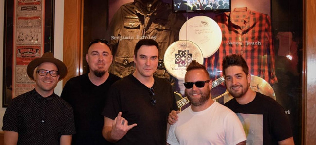 Wilkes-Barre rockers Breaking Benjamin set to release new single 'Red Cold River' on Jan. 5