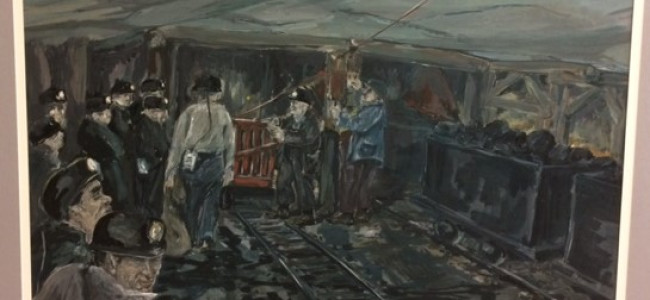 See 'A Day in the Life of an Anthracite Miner' through 1940s art tour in Scranton on Jan. 7