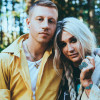Chart toppers Kesha and Macklemore perform together at Hersheypark Stadium on July 21