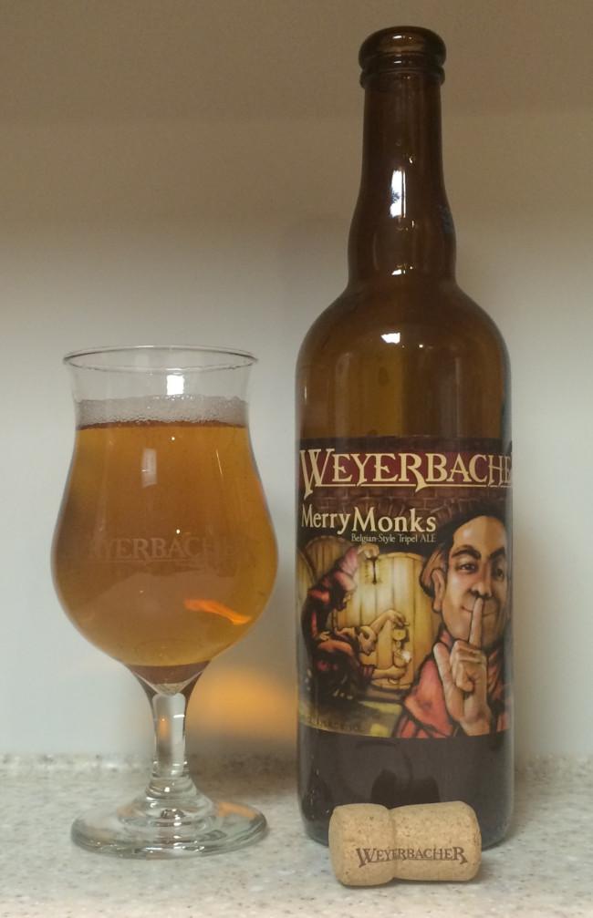 DRINK IT DOWN: Merry Monks Tripel Ale by Weyerbacher Brewing Company