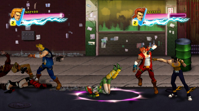 TURN TO CHANNEL 3: 'Double Dragon Neon' burns bright as '80s throwback brawler