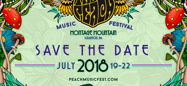 Peach Music Festival will return to Montage Mountain in Scranton July 19-22, new aftermovie released
