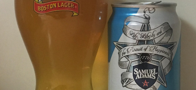 DRINK IT DOWN: Sam '76 Ale/Lager by Samuel Adams (Boston Beer Company)